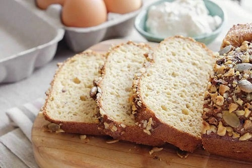 Rețetă de pâine cu făină de migdale și cocos