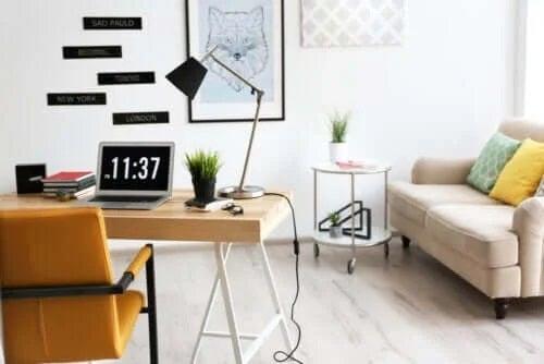 8 sfaturi pentru decorarea biroului