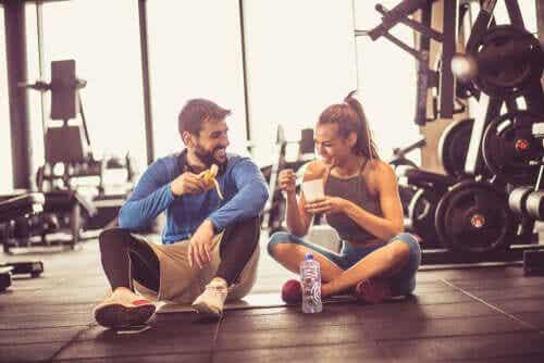 Descoperă ce să mănânci înainte de antrenament