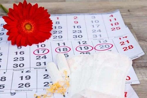 Calendar cu date încercuite