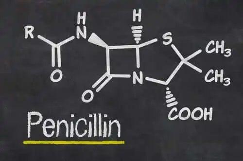 Formula chimică a penicilinei