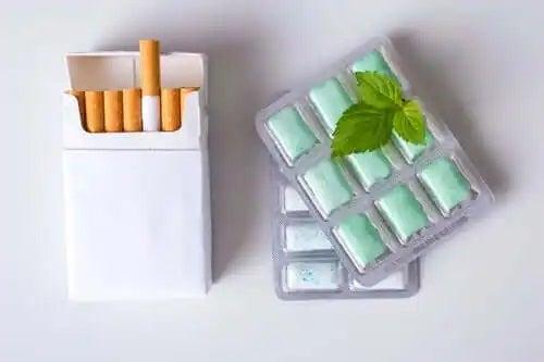 Gumă pentru a renunța la tutun
