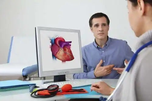 Medic care se pregătește de testul de efort cardiac