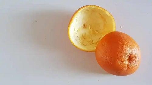 Coji de portocală