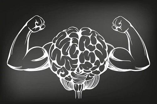 Desen cu creier puternic