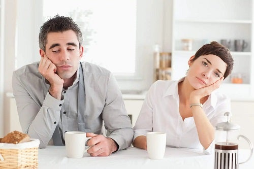 Cuplu care se plictisește