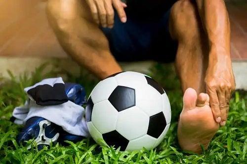 Fotbalist accidentat