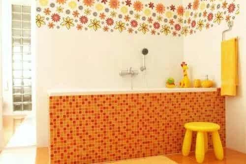 7 idei pentru baia copilului rapide și ingenioase