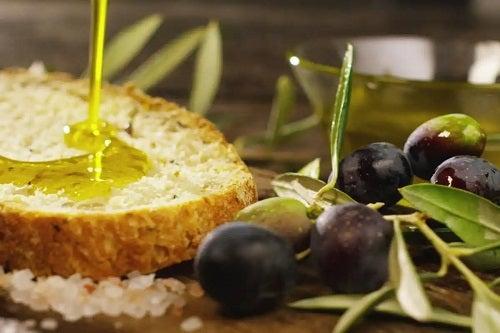 Pâine cu ulei de măsline