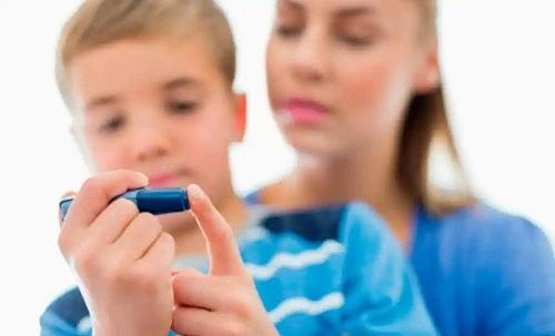 Ciocolata la copii cu diabet
