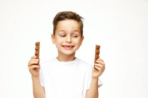 Ciocolata la copii: cât de sigură este?