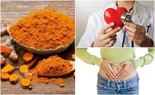 Beneficiile curcumei pentru sănătate (turmeric)