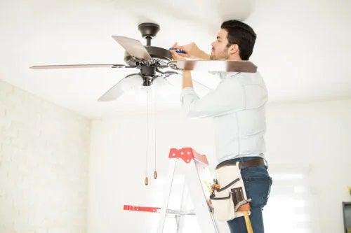 Instalarea unui ventilator de tavan: instrucțiuni pas cu pas
