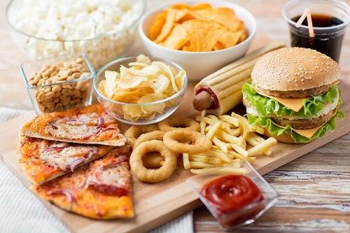 Alimente junk food