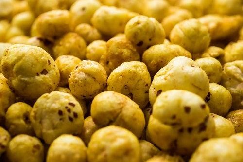 Semințele Makhana coapte în cuptor