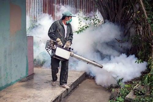 Stropire pentru boli transmise de țânțari