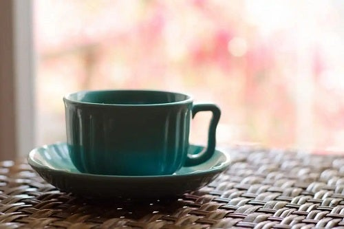 Ceașcă de cafea verde