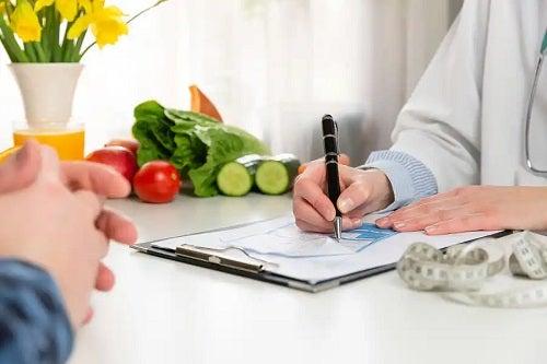 Medic care prescrie o dietă