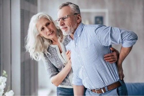 Persoană care are sindromul post-cădere