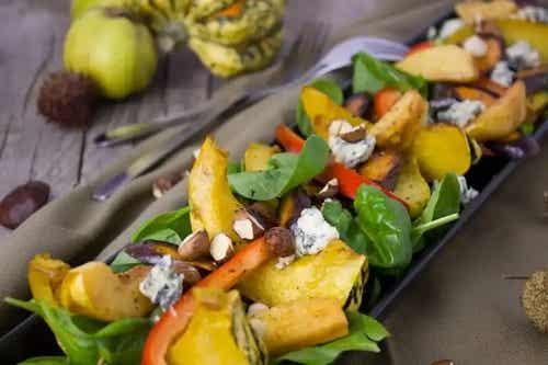Rețetă sănătoasă de salată de legume de toamnă